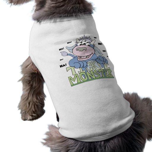 monstruo de las cosquillas camiseta de mascota