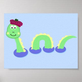 Monstruo de Loch Ness Póster