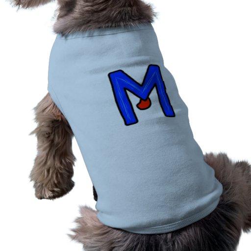 Monstruo de M Camisetas De Mascota