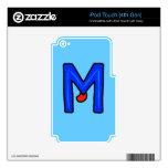 Monstruo de M iPod Touch 4G Calcomanías