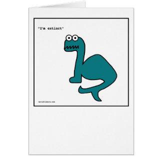 Monstruo de mar - tarjeta de felicitación