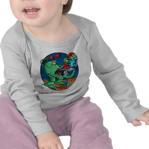 Monstruo de Martain Camisetas