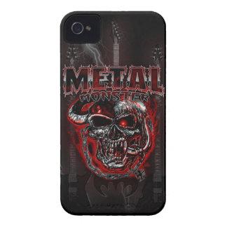 Monstruo de metales pesados iPhone 4 Case-Mate coberturas