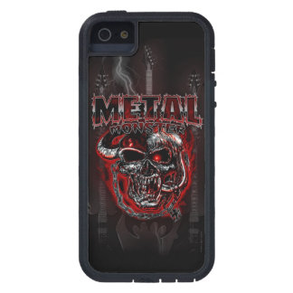 Monstruo de metales pesados iPhone 5 carcasa