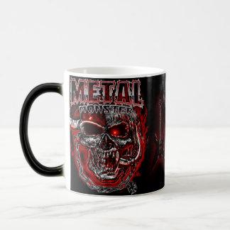 Monstruo de metales pesados taza mágica