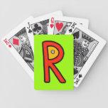 Monstruo de R Baraja Cartas De Poker