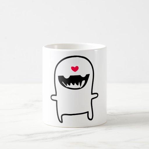 monstruo del amor taza de café