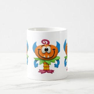 Monstruo del bebé taza
