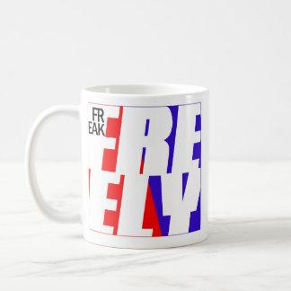 Monstruo del cafeína de FFM 01 Taza Básica Blanca
