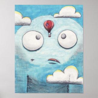 Monstruo del cielo póster