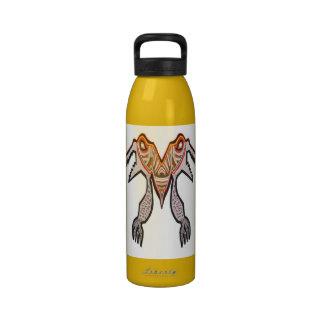 Monstruo del cocodrilo de TOGATOGA por Navin Botellas De Agua Reutilizables