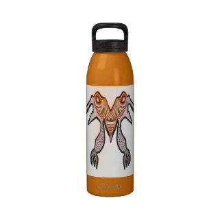 Monstruo del cocodrilo de TOGATOGA por Navin Botella De Agua Reutilizable