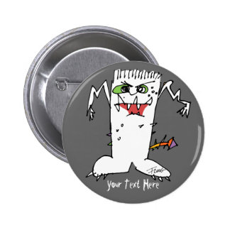 Monstruo del dibujo animado de FrankEinstein Pin