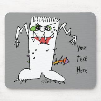 Monstruo del dibujo animado de FrankEinstein Tapete De Raton