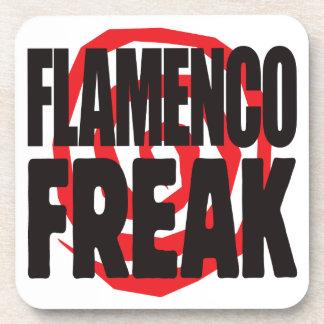 Monstruo del flamenco posavasos de bebidas