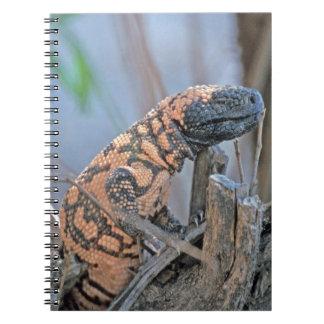 Monstruo del Gila Libro De Apuntes Con Espiral