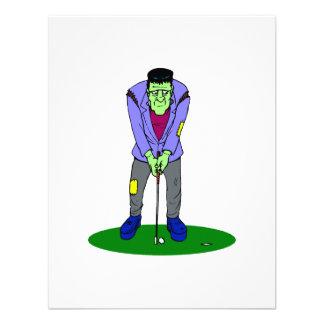 Monstruo del golf invitación