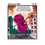 Monstruo del hilado postales