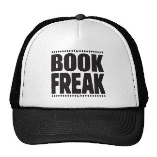 Monstruo del libro gorra