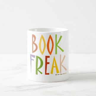 Monstruo del libro taza de café