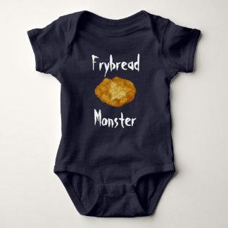 Monstruo del pan de fritada mameluco de bebé