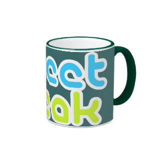 Monstruo del pío taza de café