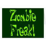 Monstruo del zombi # 9 felicitación
