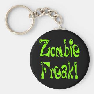 Monstruo del zombi # 9 llaveros personalizados