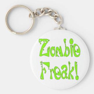Monstruo del zombi # 9 llaveros