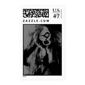 Monstruo del zombi sello