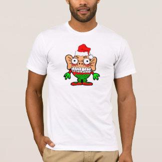 Monstruo divertido del navidad playera
