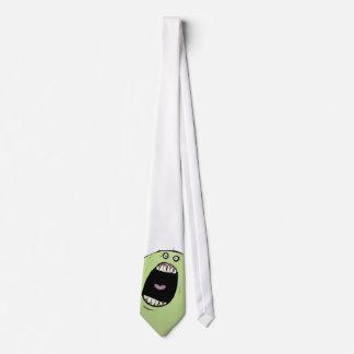 Monstruo en mi lazo - diseño exclusivo corbatas personalizadas