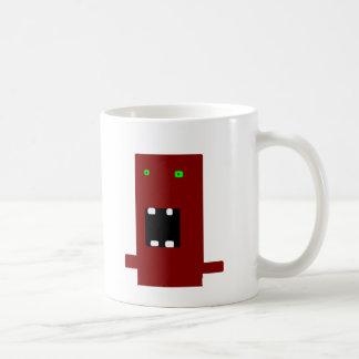 monstruo enojado 2 taza de café
