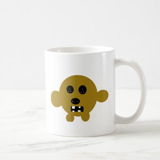 monstruo enojado # 6 tazas