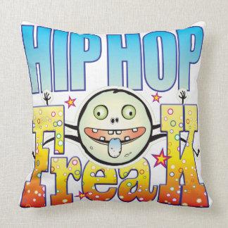 Monstruo extraño de Hip Hop Cojines