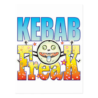Monstruo extraño de Kebab Postal