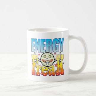 Monstruo extraño de la energía taza básica blanca