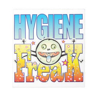 Monstruo extraño de la higiene bloc
