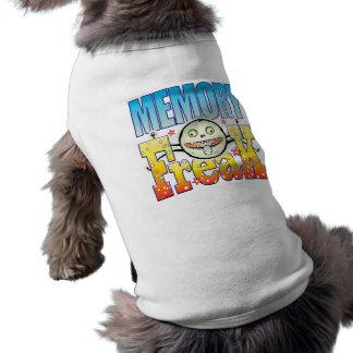 Monstruo extraño de la memoria camiseta sin mangas para perro