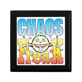 Monstruo extraño del caos caja de regalo cuadrada pequeña
