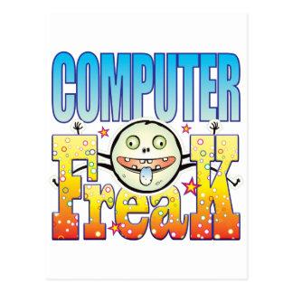 Monstruo extraño del ordenador postal
