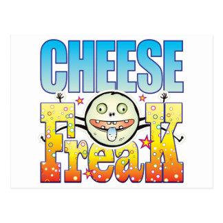 Monstruo extraño del queso postal