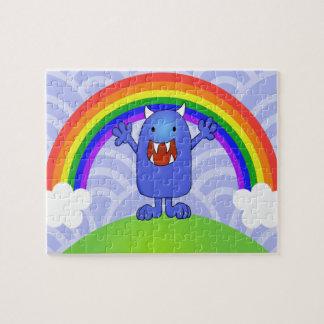 Monstruo feliz puzzle