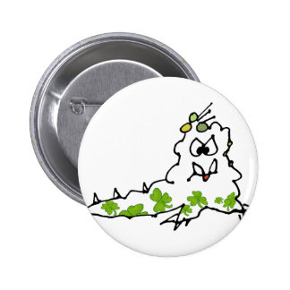Monstruo irlandés de la barra del dibujo animado d pins