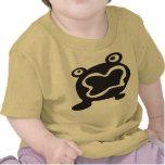 Monstruo lindo del sapo (edtion del bebé) camisetas