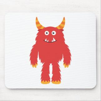 Monstruo lindo retro alfombrilla de raton