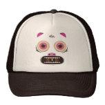 Monstruo loco divertido gorras