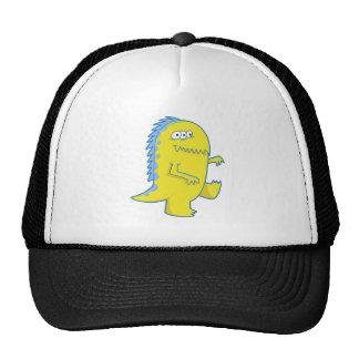 monstruo observado de Dino del amarillo tres Gorras De Camionero