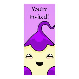Monstruo púrpura de las cosquillas de Kawaii Anuncios Personalizados