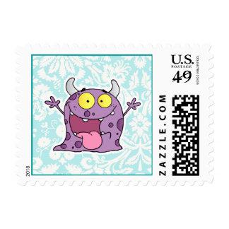 Monstruo púrpura feliz; Lindo Envio